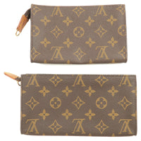 Louis Vuitton Monogram Set of 2 Pouch For Bucket PM GM