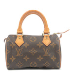 Louis Vuitton Monogram Mini Speedy Hand Bag Boston Bag M41534