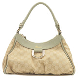 GUCCI-Abbey-Line-GG-Canvas-Shoulder-Bag-Beige-Moss-green-190525