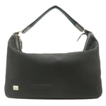 GUCCI-Canvas-Leather-Shoulder-Bag-Black-146243