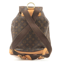 Louis Vuitton Monogram Montsouris GM Back Pack M51135