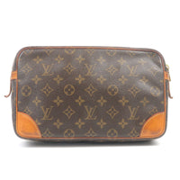 Louis Vuitton Monogram Compiegne 28 Pouch Clutch Bag M51845