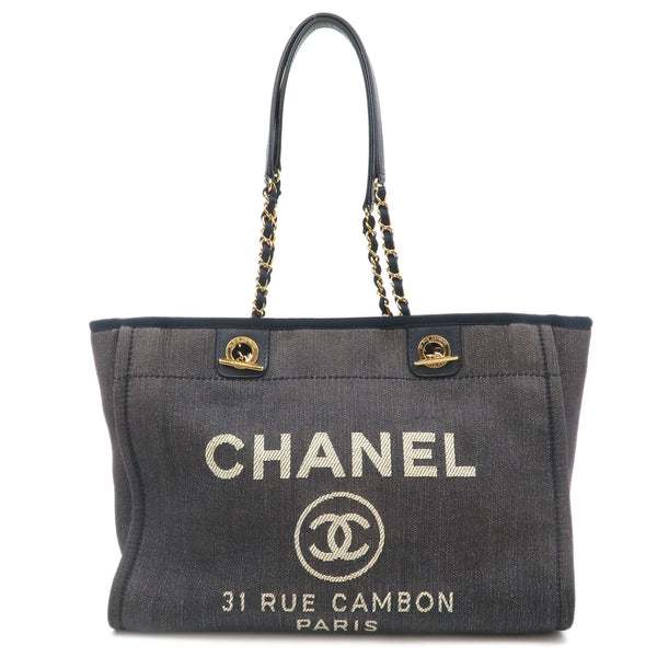 CHANEL-Deauville-MM-Chain-Tote-Bag-Indigo-Blue-Gold-A67001