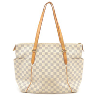 Louis Vuitton Damier Azur Totally MM Tote Bag N51262