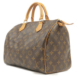 Louis Vuitton Monogram Speedy 30 Hand Bag Boston Bag M41526