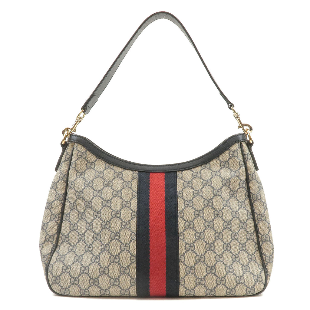 GUCCI-GG-Plus-Leather-Shoulder-Bag-Navy-388921