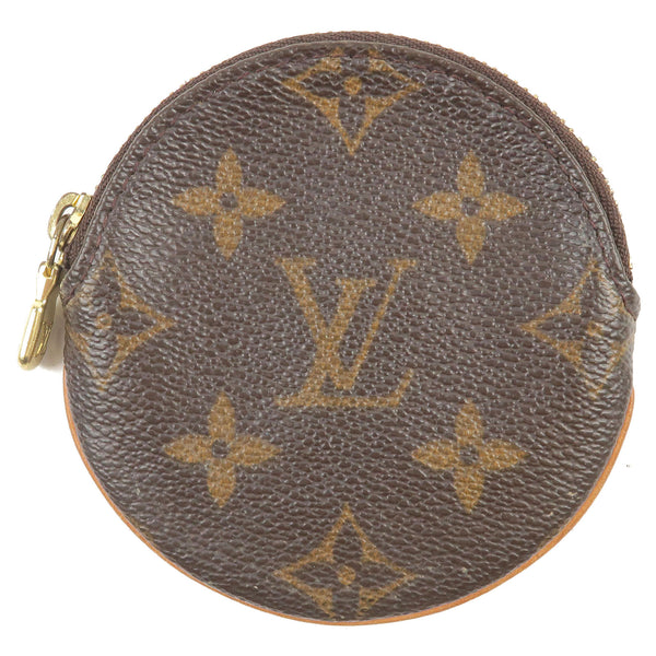 Louis-Vuitton-Monogram-Porte-Monnaie-Round-Coin-Case-M61926