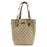 GUCCI-GG-Plus-PVC-Enamel-Tote-Bag-Beige-Bronze-189897