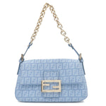 FENDI-Zucchino-Canvas-Leather-Mini-Mamma-Baguette-Bag-8BR180