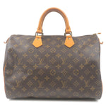 Louis-Vuitton-Monogram-Speedy-35-Hand-Bag-Boston-Bag-M41524