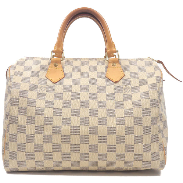 Louis-Vuitton-Damier-Azur-Speedy-30-Hand-Bag-Boston-Bag-N41533