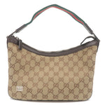 GUCCI-Sherry-Line-GG-Canvas-Leather-Shoulder-Bag-Beige-145812