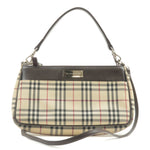 BURBERRY-Nova-Check-Canvas-Leather-Shoulder-Bag-Beige-Brown