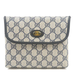 GUCCI-Old-Gucci-GG-Plus-Leather-Clutch-Bag-Pouch-Navy-68.039.4494