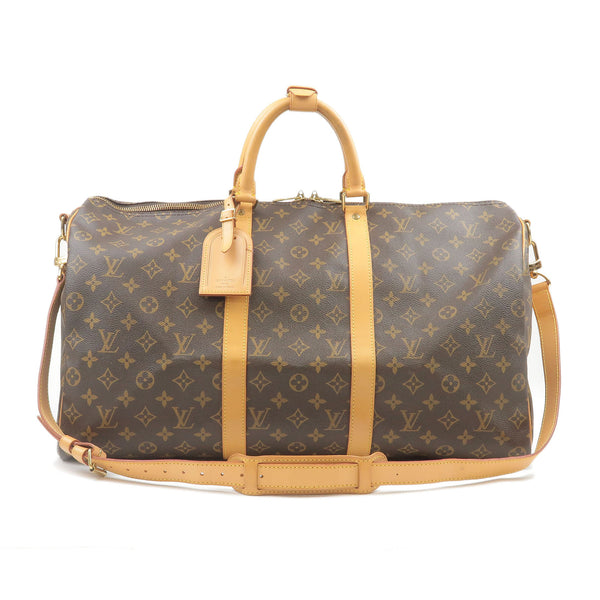 Louis-Vuitton-Monogram-Keep-All-Bandouliere-50-Boston-Bag-Travel-Bag-M41416