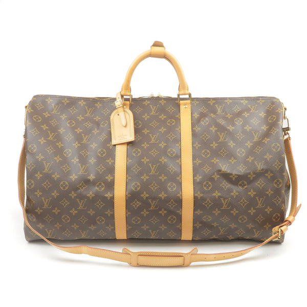 Louis-Vuitton-Monogram-Keep-All-Bandouliere-60-Boston-Bag-Travel-Bag-M41412