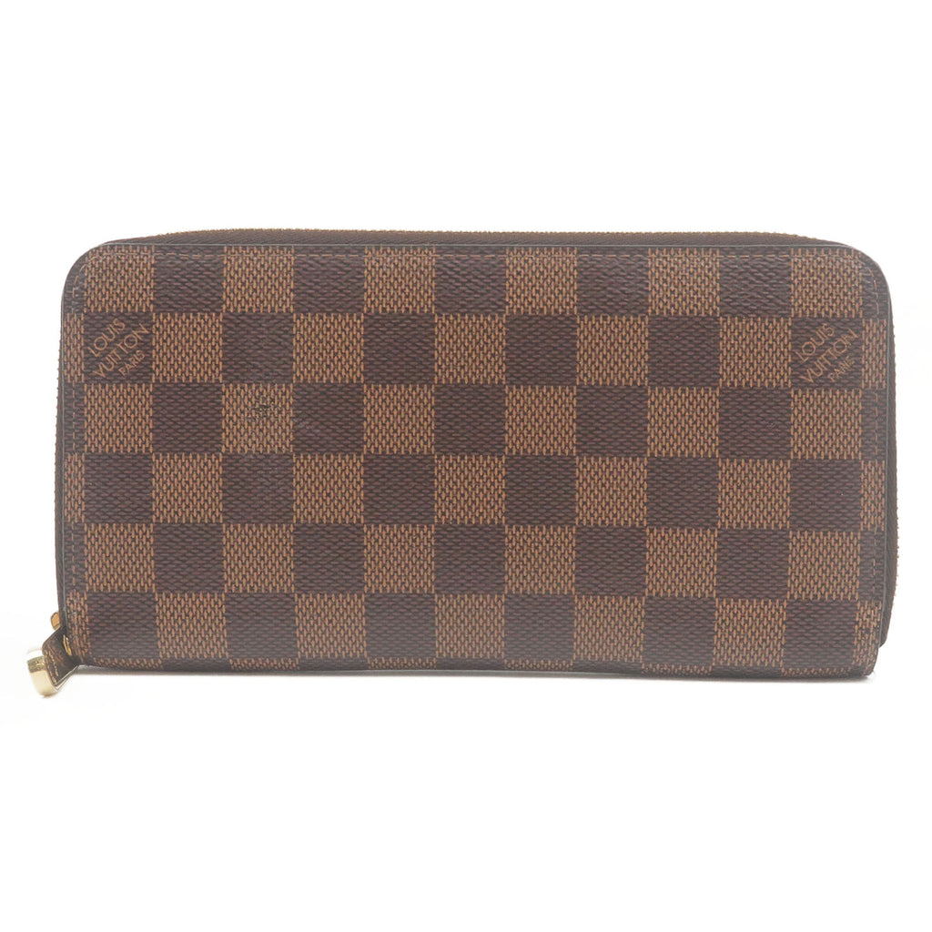 Louis-Vuitton-Damier-Zippy-Wallet-Round-Zip-Long-Wallet-N60015