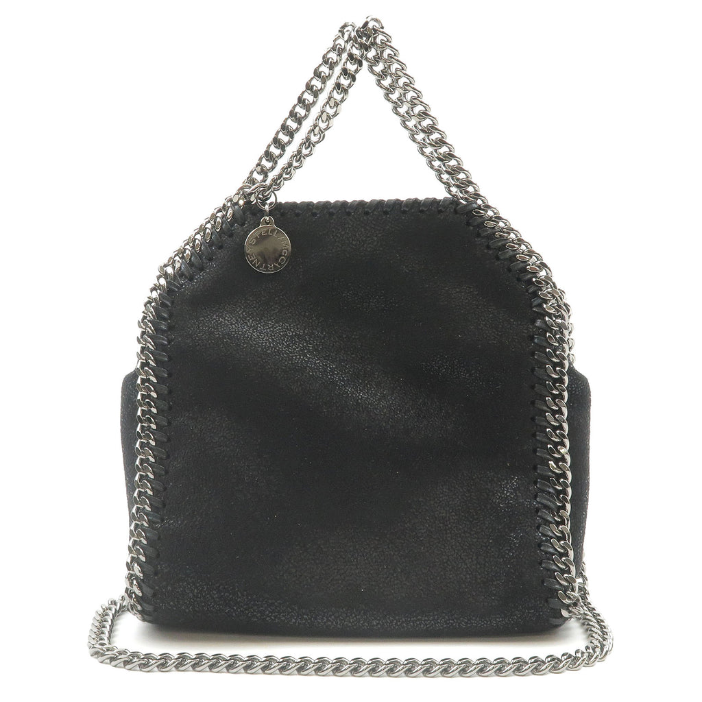 Stella-McCartney-Falabella-Tiny-Imitation-Leather-Chain-Bag-Black