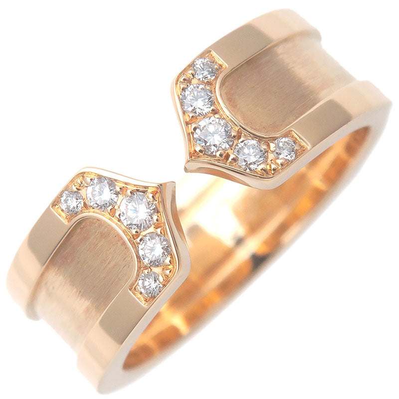 Cartier-C2-Diamond-Ring-SM-Yellow-Gold-#50-US5.5-HK11.5-EU50