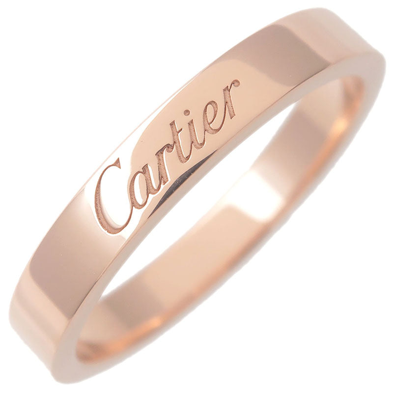 Cartier-Engraved-Ring-K18-750PG-Rose-Gold-#53-US6.5-HK14-EU53
