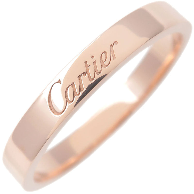 Cartier-Engraved-Ring-K18-750PG-Rose-Gold-#58-US8.5-HK19-EU58