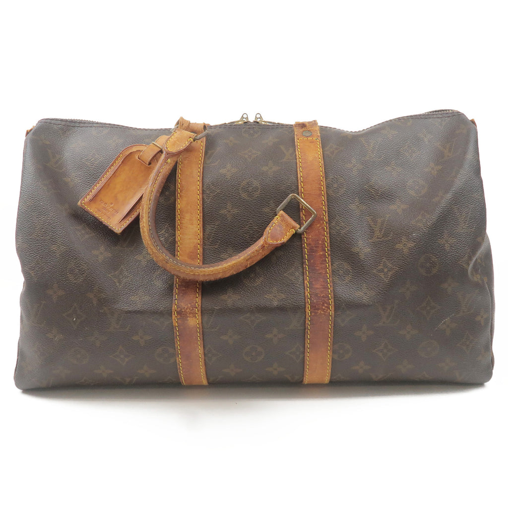 Louis-Vuitton-Monogram-Keep-All-45-Boston-Bag-M41428