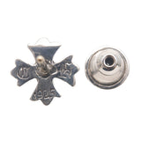 Chrome Hearts CH Plus Single Stud Earring Silver 925-dct-ep_vintage luxury Store