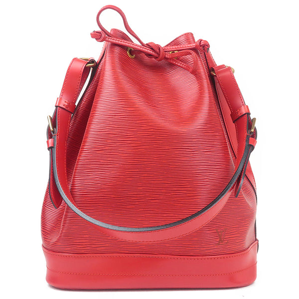 Louis Vuitton Epi Noe Shoulder Bag Castilian Red M44007