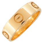 Cartier Love Ring K18 750 Yellow Gold #58 US8.5 HK19 EU58.5
