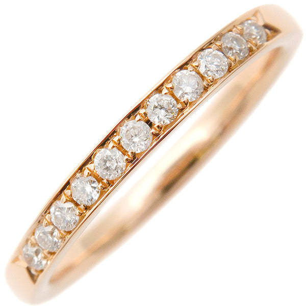 4℃ Half Eternity Diamond Ring K18 Rose Gold US4.5 EU48
