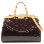 Louis-Vuitton-Vernis-Brea-MM-2Way-Hand-Bag-Amarante-M91619