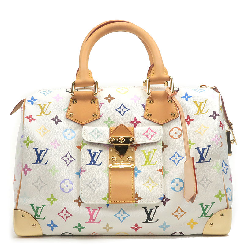 Louis-Vuitton-Monogram-Multi-Color-Speedy-30-Hand-Bag-M92643