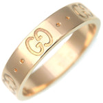 GUCCI-ICON-Ring-K18-YG-750-Yellow-Gold-#11-US5.5-HK12-EU51