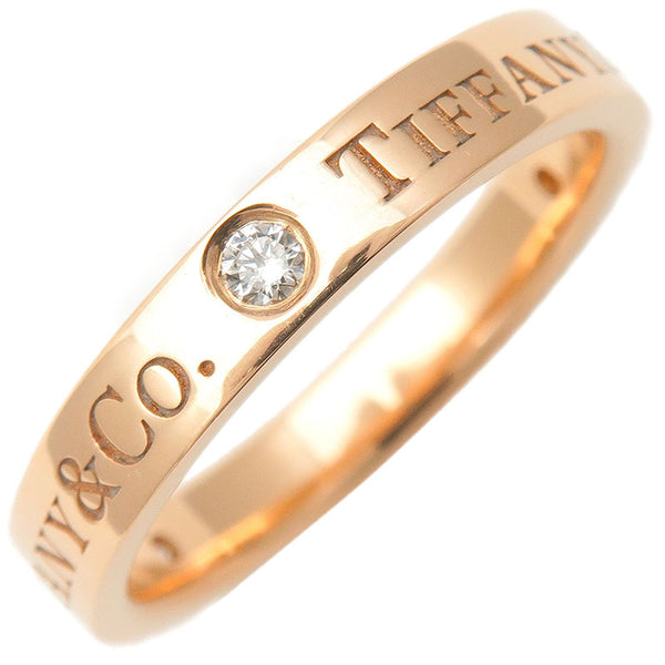 Tiffany&Co.-Flat-Band-3P-Diamond-Ring-Rose-Gold-US4.5-EU48