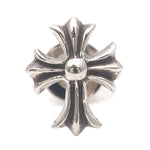 Chrome Hearts CH Cross Single Stud Earring Silver 925-dct-ep_vintage luxury Store