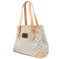 Louis Vuitton Damier Azur Hampstead MM Hand Bag N51206