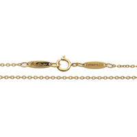 Tiffany&Co. Eternal Circle Necklace K18YG Yellow Gold