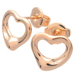 Tiffany&Co.-Open-Heart-Earrings-K18-750-Rose-Gold