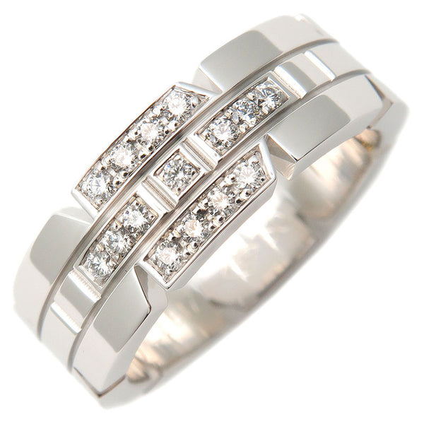 Cartier-Tank-Francaise-Diamond-Ring-750-White-Gold-#50-US5.5
