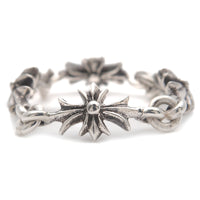 Chrome Hearts Tiny E CH Plus Ring Silver US6.5 HK14.5 EU53.5-dct-ep_vintage luxury Store