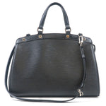 Louis Vuitton Epi Brea MM 2Way Hand Bag Noir Black M40329