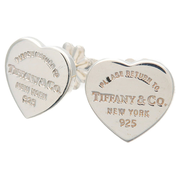 Tiffany&Co. Return to Tiffany Mini Heart Tag Earrings SV925