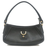 GUCCI-Abbey-Line-Leather-Shoulder-Bag-Black-130989