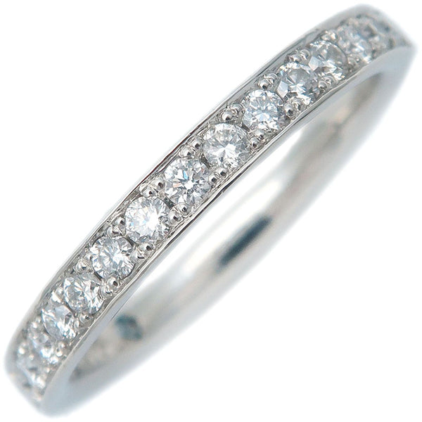 4℃-Half-Eternity-Diamond-Ring-PT950-Platinum-US4-HK8.5-EU47