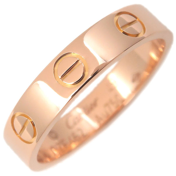 Cartier-Mini-Love-Ring-K18-750-Rose-Gold-#49-US5-HK10.5-EU49