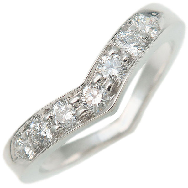 Tiffany&Co.-V-Band-Ring-7P-Diamond-950-Platinum-US6-HK13-EU52