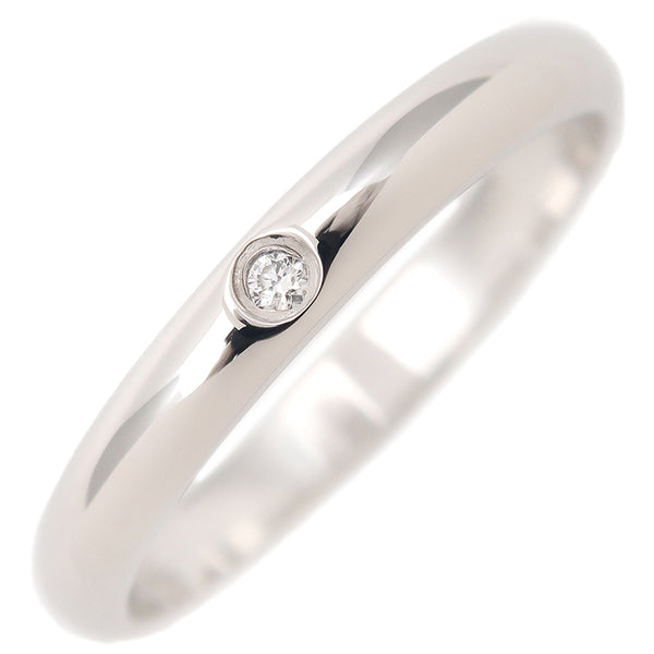 Cartier Classic Wedding Ring 1P Diamond Platinum #49 US5 EU49