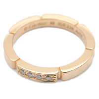 Cartier maillon panthère Ring 4P Diamond Yellow Gold #48 US4.5-dct-ep_vintage luxury Store