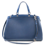 Louis Vuitton Epi Brea MM 2Way Hand Bag Indigo Blue M40821