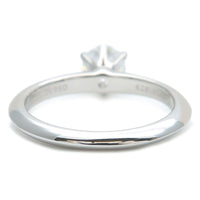 Tiffany&Co. Solitaire Diamond Ring 0.55ct Platinum US4.5 EU48